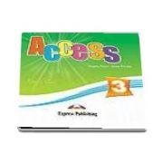 Virginia Evans, Access 3 Audio CD. Curs limba engleza pentru clasa a 7-a, nivel pre-intermediate (set 4 CD)