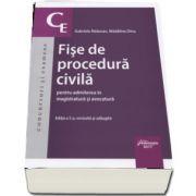 Gabriela Raducan, Fise de procedura civila pentru admiterea in magistratura si avocatura. Editia a 5-a, revizuita si adaugita