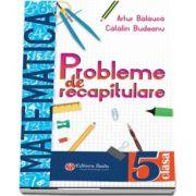 Artur Balauca, Probleme de recapitulare. Matematica. Clasa a V-a