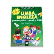 Limba engleza pentru pitici... mari si MICI: cu autocolante reutilizabile