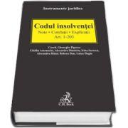 Gheorghe Piperea, Codul insolventei. Note. Corelatii. Explicatii Art. 1-203