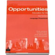 New Opportunities Elementary Language Powerbook Pack de Olivia Johnston