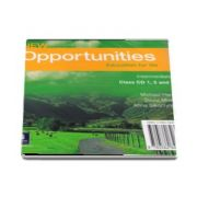 New Opportunities Intermediate Class Audio CD de Michael Harris