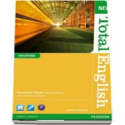 New Total English Starter Level Students Book with Active Book Pack de Jonathan Bygrave