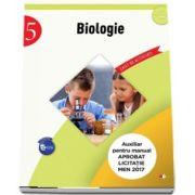 Biologie - Caiet de activitati pentru clasa a V-a (Auxiliar pentru manualul aprobat la licitatia MEN 2017)