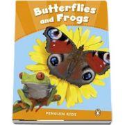 Butterflies and Frogs CLIL - Penguin Kids, level 3 de Wilson Rachel