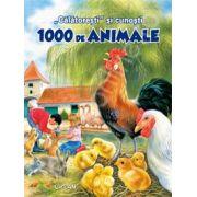 """,, Calatoresti"""" si cunosti 1000 de animale"""
