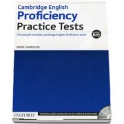 Mark Harrison, Cambridge English - Proficiency - Practice Tests. Five tests for the 2013 Cambridge English: Proficiency exam - With Key and Audio CD Pack