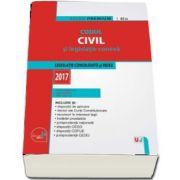 Codul civil si legislatie conexa. Editie Premium - Legislatie consolidata si index - 2017 de Dan Lupascu