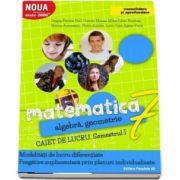 Dragos Petrica, Matematica 2000. Algebra, geometrie. Caiet de lucru, pentru clasa a VII-a. Semestrul I (Consolidare si aprofundare)