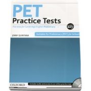 PET Practice Tests Practice Tests. Five tests for Cambridge English: Preliminary - With Key and Audio CD Pack (Jenny Quintana)