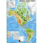 America. Harta fizica - Harta politica (In conformitate cu programa scolara in vigoare)