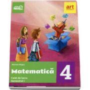 Matematica. Caiet de lucru pentru Clasa a IV-a - Semestrul I (Colectia, Arthur la scoala!) de Mariana Mogos