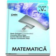Matematica. Caietul elevului pentru clasa a V-a de Radu Gologan