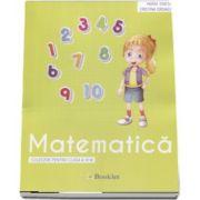 Matematica, culegere pentru clasa a IV-a de Maria Ionescu