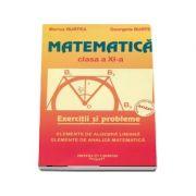 Matematica. Exercitii si probleme, pentru clasa a XI-a (Elemente de algebra liniara, elemente de analiza matematica)
