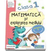 Matematica si explorarea mediului, pentru clasa I, caiet de lucru - Semestrul 1 - Varianta CP
