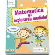 Matematica si explorarea mediului pentru, clasa pregatitoare. Semestrul I - Caiet de lucru (Editie 2017)
