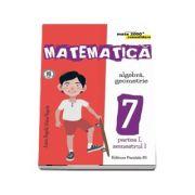 Matematica - CONSOLIDARE (2017 - 2018). Algebra si Geometrie, pentru clasa a VII-a. Partea I, semestrul I (Colectia mate 2000+) de Anton Negrila