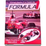 Construieste-ti un bolid de Formula 1. Fara foarfeca sau lipici - Macheta de 71 cm lungime