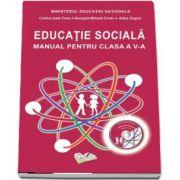 Educatie sociala - Manual pentru clasa a V-a de Cristina Ipate Toma (Contine si editia digitala)