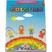 English for kids - Colours (Contine 16 cartonase cu imagini color) de Silvia Ursache