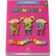 English for kids - Numbers (Contine 32 cartonase cu imagini color) de Silvia Ursache