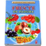 Fructe de padure - Sa cunoastem lumea impreuna! (Contine 16 cartonase cu imagini color) de Silvia Ursache