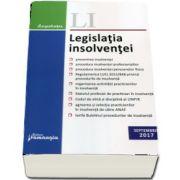 Legislatia insolventei. Editia a II-a, actualizata la 15 septembrie 2017