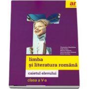 Limba si literatura romana, caietul elevului pentru clasa a V-a de Florentina Samihaian