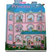 Princess Top, cu stickerele - My House Blue -