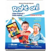Right on! Students Book - Limba moderna 1. Manual pentru limba engleza pentru clasa a V-a (Contine editia digitala) de Jenny Dooley