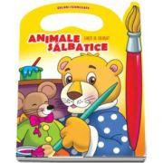 Animale salbatice. Carte de colorat - Colectia Culori Fermecate