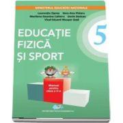 Educatie fizica si sport manual pentru clasa a V-a de Laurentiu Oprea - Contine editie digitala