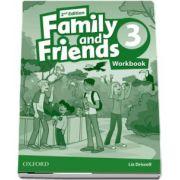 Family and Friends 3 - Workbook 2nd Edition de Liz Driscoll