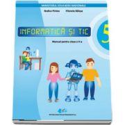 Informatica si TIC, manual pentru clasa a V-a (Contine editie digitala) de Rodica Pintea