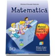 Matematica, manual pentru clasa a V-a. Varianta IDEE de Mihaela Singer (Contine editie digitala)
