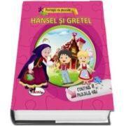Povesti cu puzzle - Hansel si Gretel (Contine 6 Puzzle-uri)