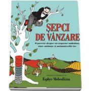 Sepci de vanzare - O poveste despre un negustor ambulant, niste maimute si maimutarelile lor de Esphyr Slobodkina