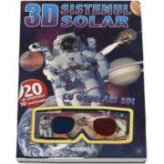 Sistemul solar - Cu ochelari 3D! - Contine 20 de abtibilduri 3D reutilizabile
