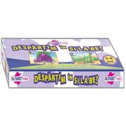 Despartim in si-la-be! Prin joc invatam alfabetul si sa pronuntam corect (Alfabet 70 de puzzle-uri!)