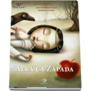 Alba-ca-Zapada cu Ilustratii de Benjamin Lacombe