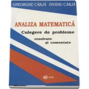 Analiza matematica. Culegere de probleme rezolvate si comentate de Gheorghe Carja
