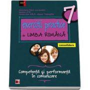 Mina Maria Rusu, Exercitii practice de Limba Romana, pentru clasa a VII-a. Consolidare - Competenta si performanta in comunicare (Editie 2017)