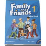 Family and Friends 1 - Class Book and MultiROM Pack de Naomi Simmons (New Edition)