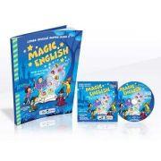 Magic English. Limba engleza pentru clasa I, jocuri si activitati distractive de Barsan Ana-Maria