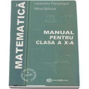 Matematica, manual pentru clasa a X-a M1 de Laurentiu Panaitopol