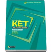 Richmond KET Practice Tests Students Book - CD-ROM with 7 practice tests - Auxiliar recomandat pentru elevii de gimnaziu