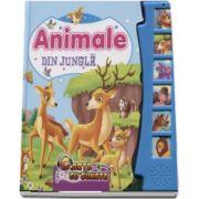 Animale din jungla. Carte cu sunete