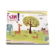 Fun at kindergarten - Limba engleza pentru grupa mijlocie 3-4 ani de Cristina Mircea